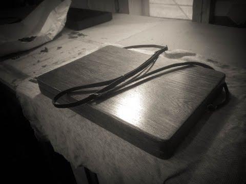 Making Wooden Case for MacBook | Деревянный кейс для МакБука | DIY