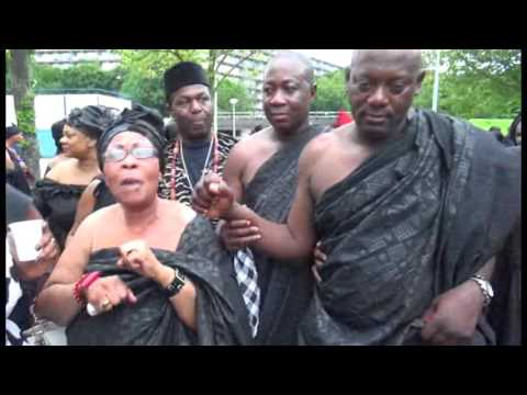 Ohemaa Kusiwaa of the Netherlands elects kings and chiefs in Amsterdam
