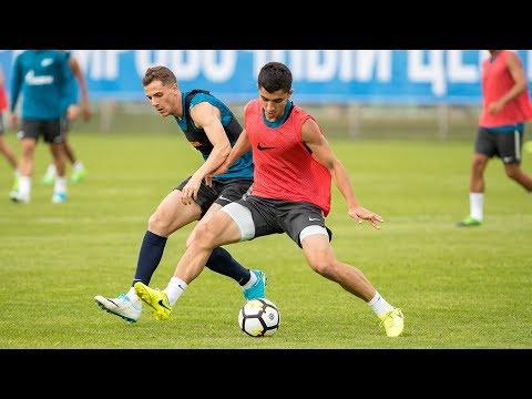 «Зенит» — «Рубин» открытая тренировка перед первым домашним матчем сезона