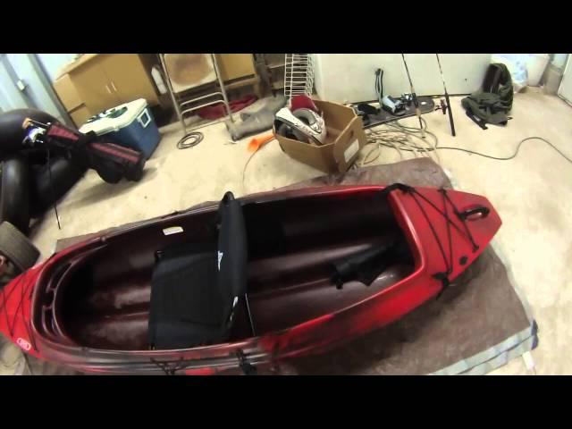 Kayak Fishing Setup (March 2014)