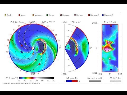 Space Weather Update - WSA ENLIL / iSWA Cygnet Explained - Earthquake WATCH