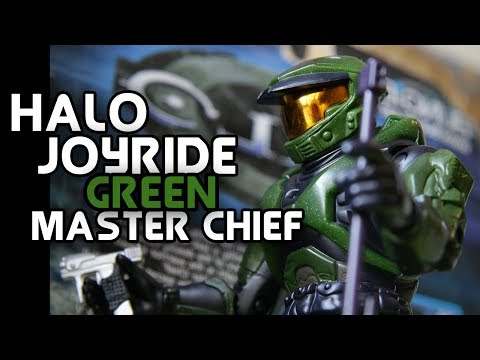 Joyride Halo Combat Evolved Master Chief Series 1 (The First Halo Figure Ever Made!) Review
