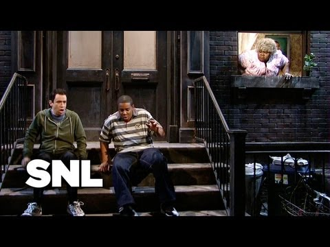 Crazy Lady Yelling from Window  SNL