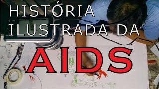 História ilustrada da AIDS