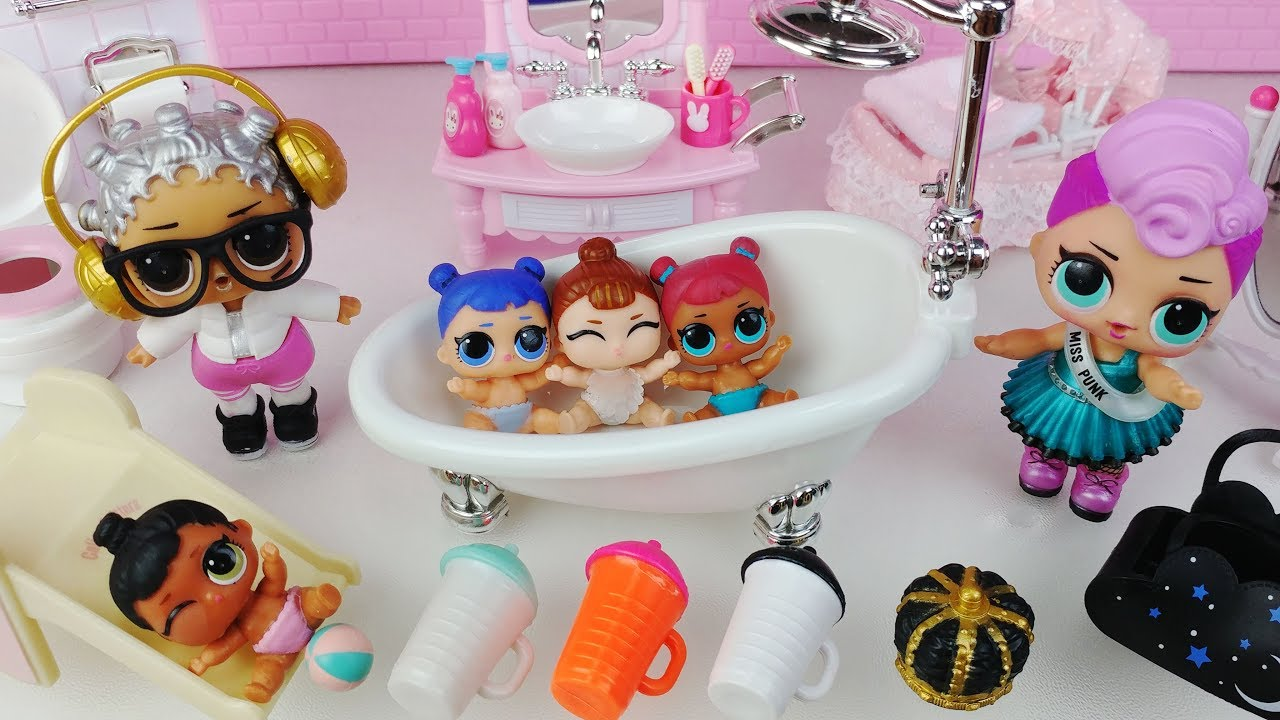 Lol Surprise Doll And Lil Sisters Series 2 Bath Toys Baby