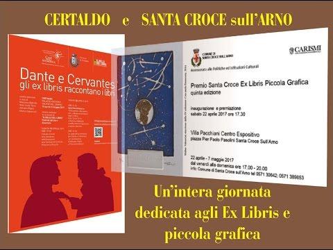 CERTALDO e SANTA CROCE  sull'ARNO - Ex Libris in Mostra