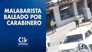 Revelan nuevo video del momento exacto en que carabinero dispara al malabarista Francisco Martínez