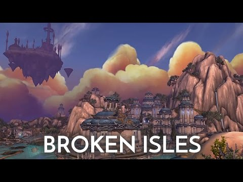 How do I get to the broken isles?