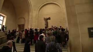 Winged Victory,Louvre Museum ルーブル美術館 サモトラケのニケ