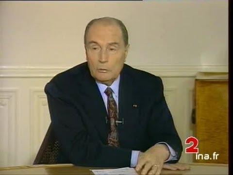 Entretien à l'Elysée avec François Mitterrand