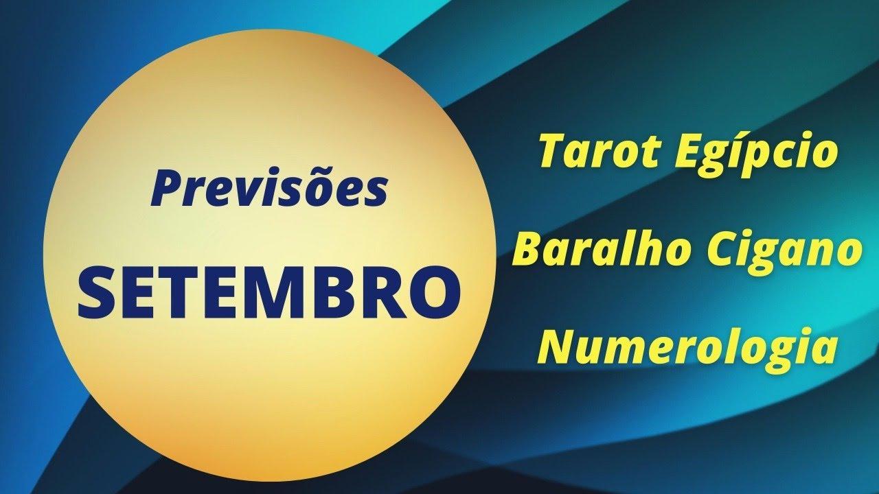 PREVISÃO COM O TAROT EGIPCIO ,BARALHO CIGANO E NUMEROLOGIA