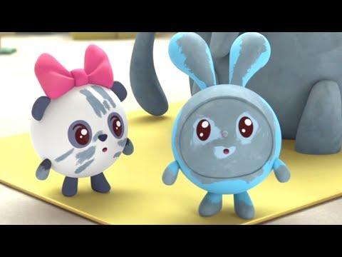 Малышарики - Слон (Новая серия 109) Развивающие мультики для самых маленьких