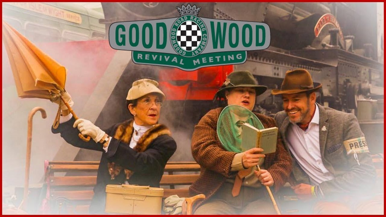 Goodwood Revival 20 Years Of The Greatest Car Show On Earth