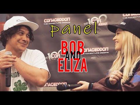 """The 100"" Bob and Eliza Panel #Conageddon2"
