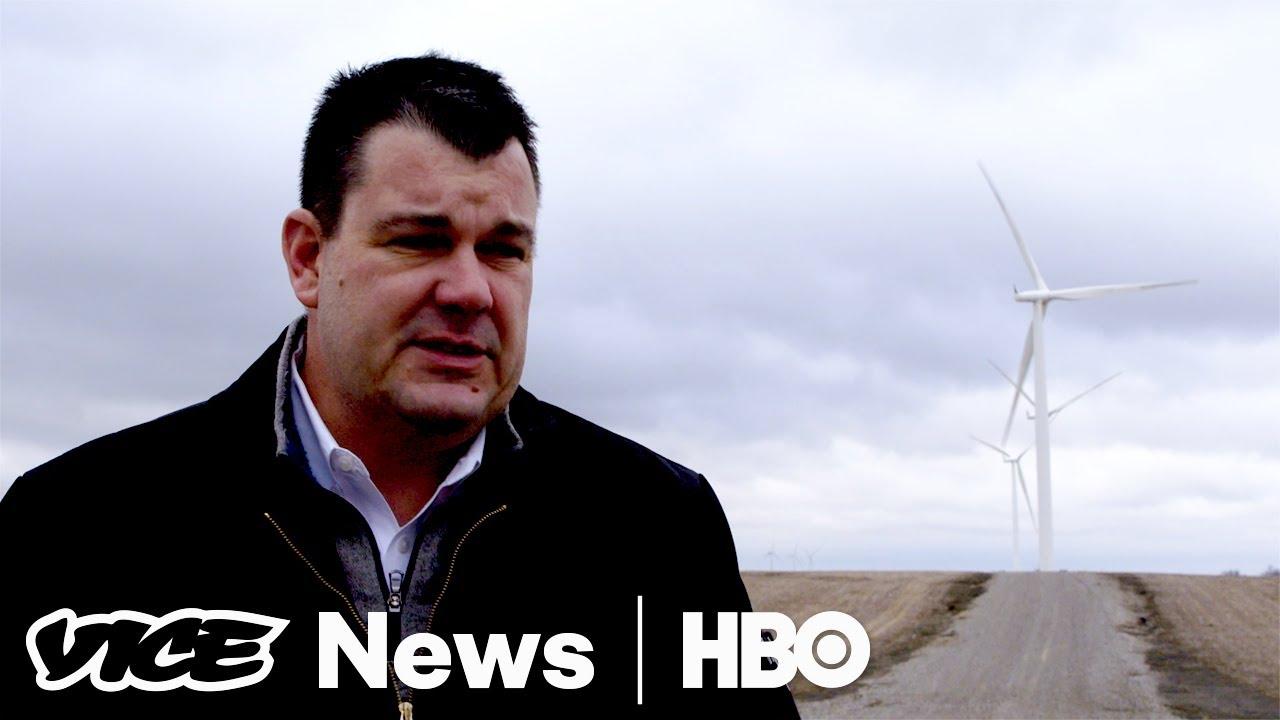 Trump May Threaten Iowa's Burgeoning Wind Power Industry (HBO)