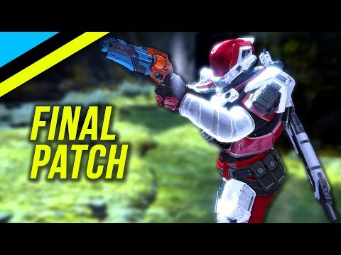 DESTINY: The Final Patch & Why I Hope For A PTR In Destiny 2