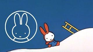 Kijk Nijntje in de sneeuw filmpje