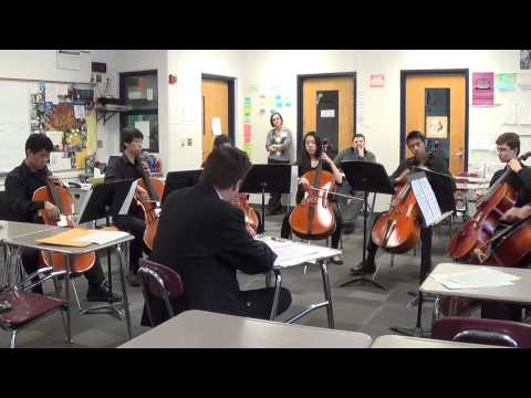 Rockelbel's Canon By The Piano Guys Performed By Huron Cello Octet