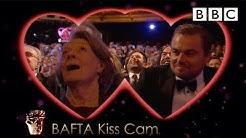 Leonardo DiCaprio and Dame Maggie Smith on Kiss Cam | The British Academy Film Awards 2016 - BBC