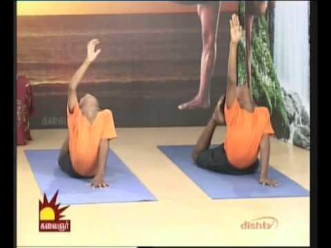 dr asana andiappan kalaignar tv yoga program 11 09 2012