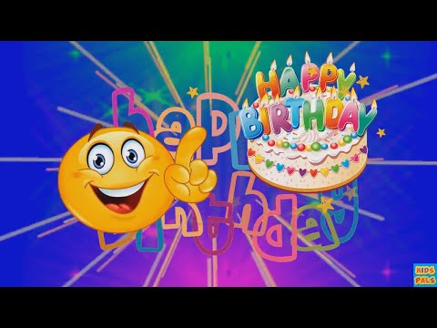 SMILEY HAPPY BIRTHDAY SONG| Emoji happy birthday song for kids.| funny happy birthday song.