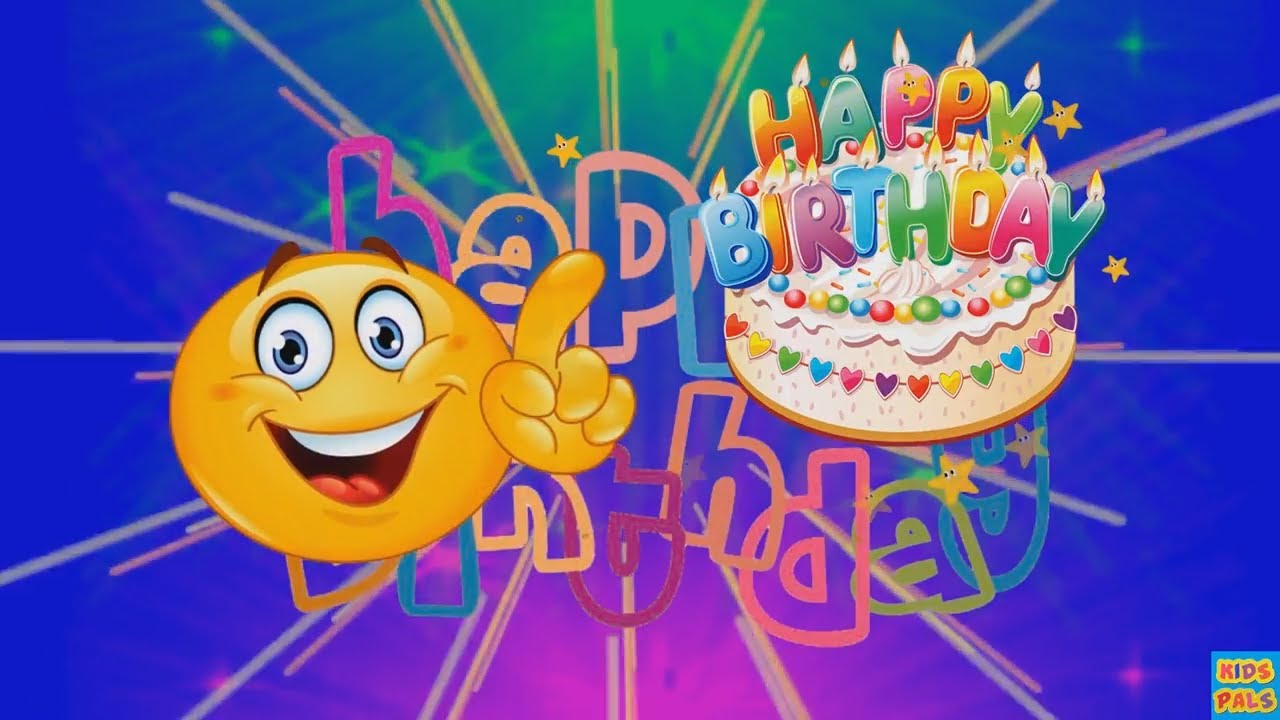 Smiley Happy Birthday Song Emoji Happy Birthday Song For Kids