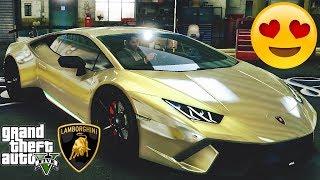 Lamborghini Huracan Performante - tuning 🚗 GTA V ☢ Redux Extreme Graphics !!!