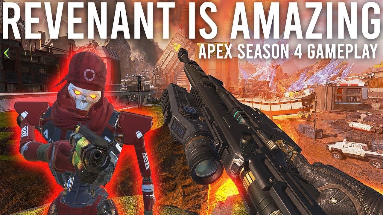 Revenant ist unglaublich! Apex Legends Season 4 Gameplay + video