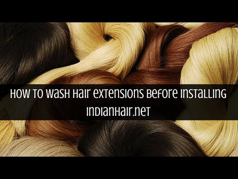 Wash instruction before installing your hair extensions youtube wash instruction before installing your hair extensions pmusecretfo Choice Image