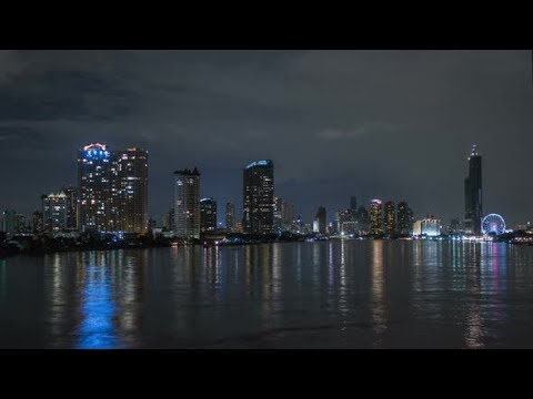 Buildings City Harbor | Stock Footage - Videohive