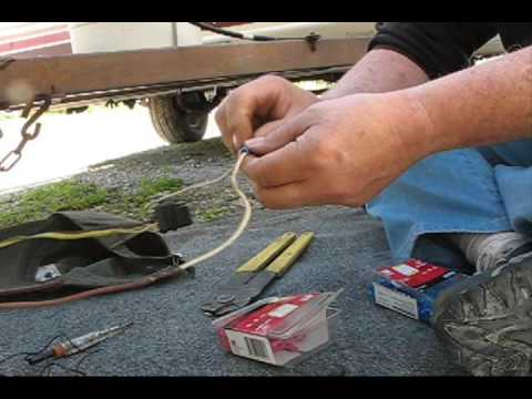 Wiring the trailer lights/finding the gound