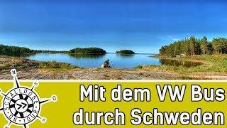 Reise: Mit dem VW Bus durch Schweden ||Teil 1 || SCHALLDOSE ON TOUR