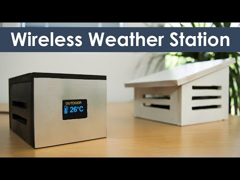Arduino Wireless Weather Station Project
