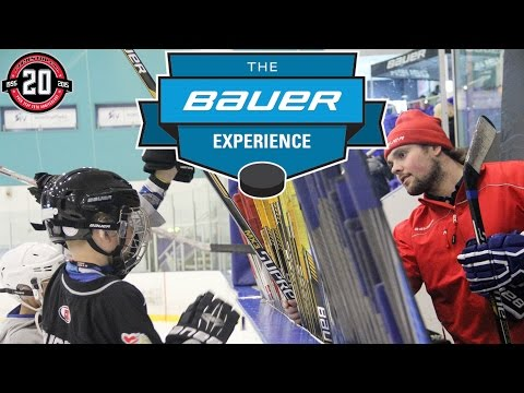 Bauer Experience - Puck Stop, UK 2015