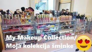 My Makeup Collection/Moja kolekcija šminke 2018  | SabrinaTubic