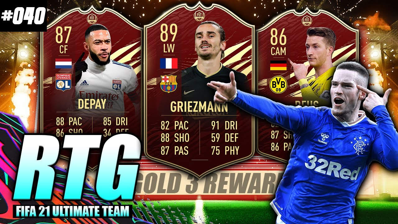 Download INSANE GOLD 3 REWARDS! GOLD 3 IS OVERPOWERED! FIFA 21 FUT CHAMPS REWARDS! #FIFA21 Road to Glory! #40