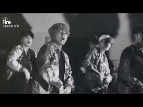[MASHUP] 방탄소년단 (BTS) - 불타오르네 (FIRE) (GD X TAEYANG / GOOD BOY Remix.)