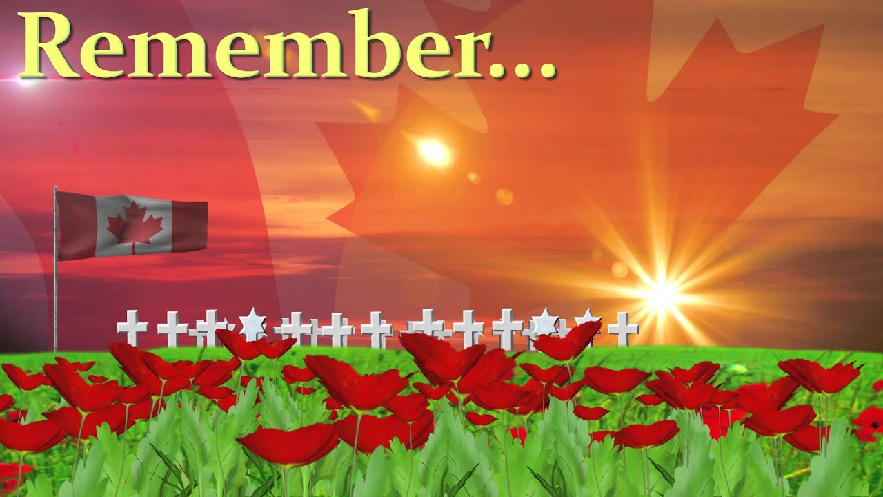 PCM: Remembrance Day (Canada) - YouTube