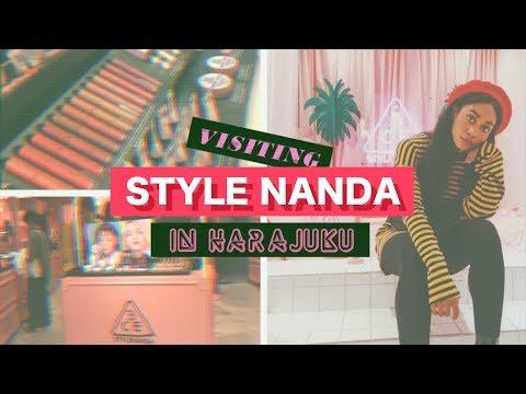 STYLE NANDA VISIT + 3CE HAUL in Harajuku! Timaloveslemons