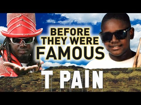 T-PAIN - Before They Were Famous