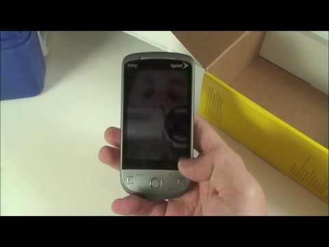 Sprint HTC Hero Unboxing (and lunchbox!)