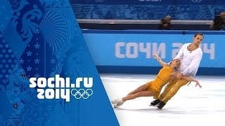 Tatiana Volosozhar & Maxim Trankov Win Gold - Full Free Program | Sochi 2014 Winter Olympics thumbnail