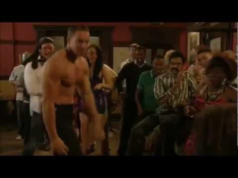 Kieran Hayler EastEnders strip - Christian's stag do