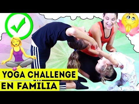DIVERTIDO YOGA CHALLENGE EN FAMILIA | POSES IMPOSIBLES | Yippee Family thumbnail