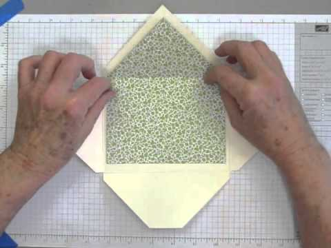 How to Make Liners for Handmade Envelopes Revised.m4v