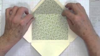 How to Make Liners for Handmade Envelopes Revised.m4v