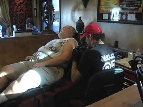 Mark walters living canvas tattoo youtube for Living canvas tattoo tempe
