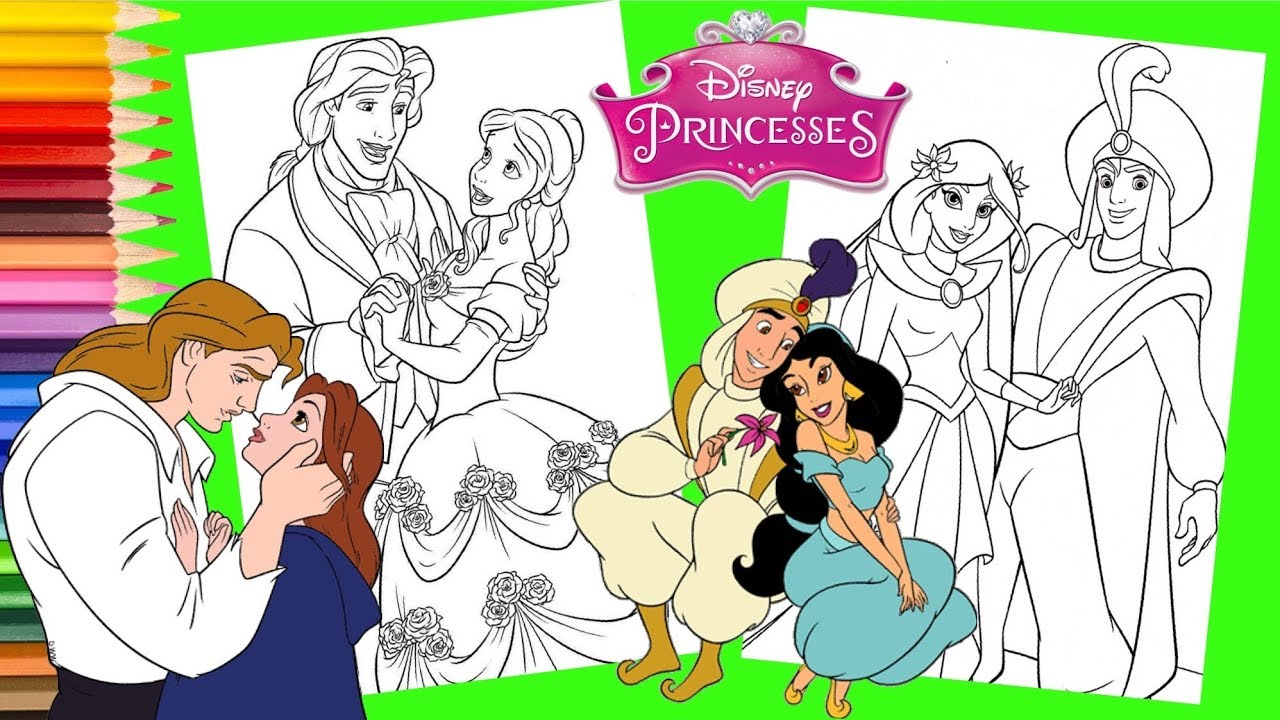 Disney Wedding Coloring Pages - Get Coloring Pages   720x1280