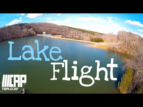 Flying at the Lake