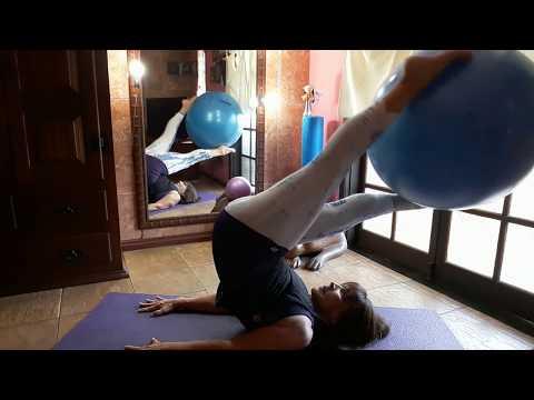 Pilates em Casa 03 - Solo com Overball & Fitball